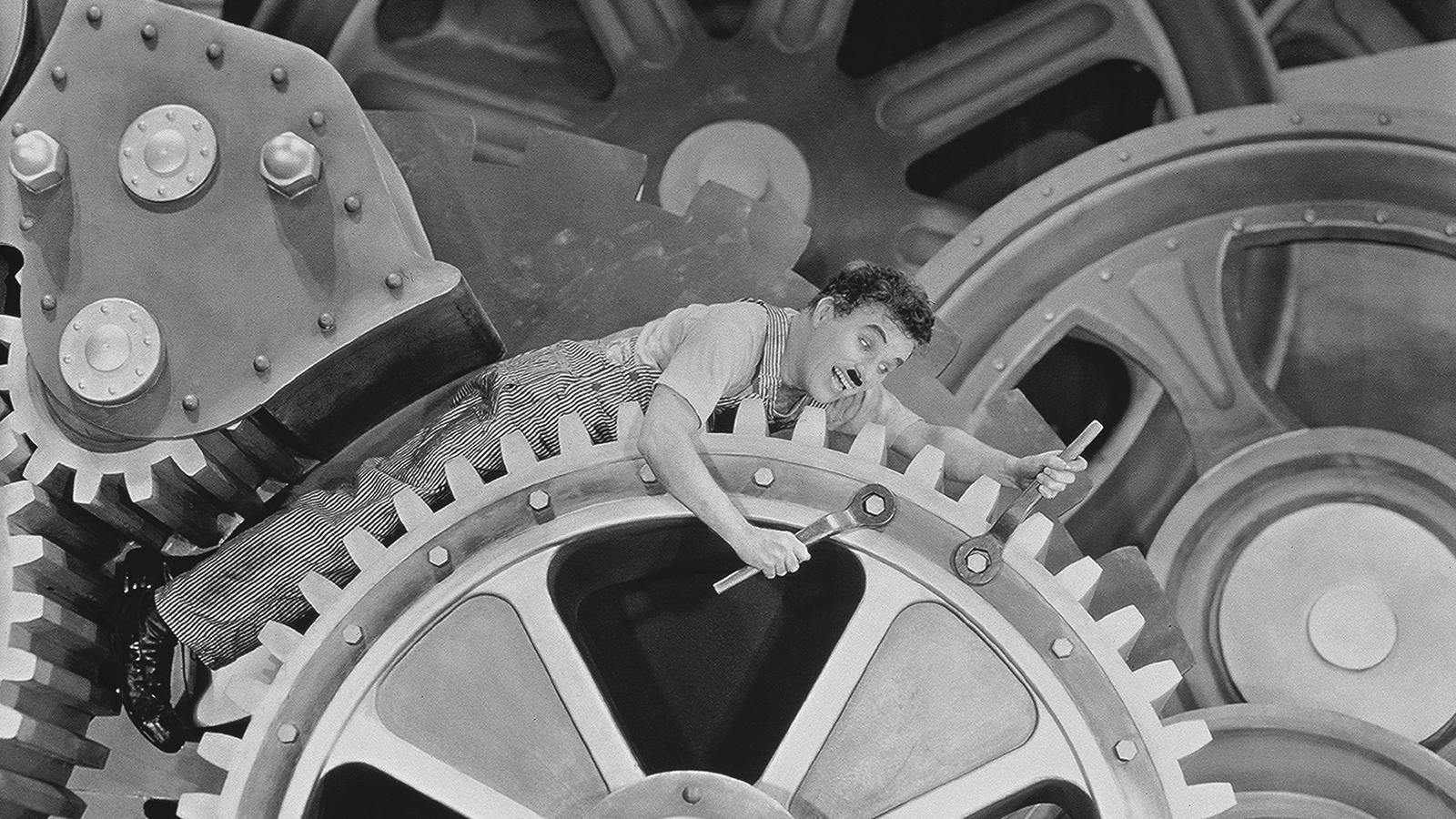 Chaplin w Dzisiejszych czasach