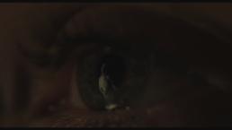 oko a w nim odbija się postać