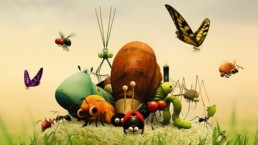 animowane owady